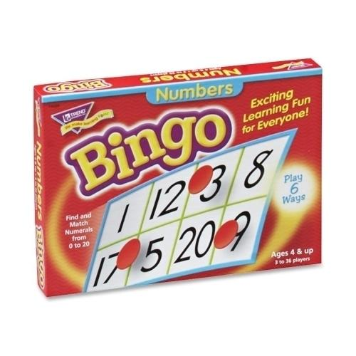 Case of [3] Trend Enterprises Numbers Bingo, For Ages 4 and Up