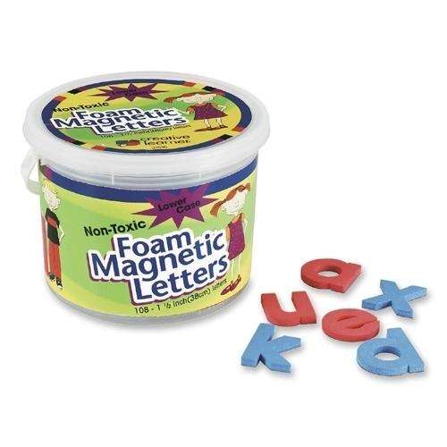 "Case of [1] Pacon Corporation Magnetic Alphabet Letters, Foam, Lower Case, 1-1/2"", 108-Count"