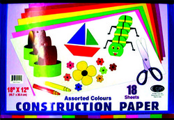 """Case of [48] Construction Paper Pad - 18Sheets- 12"""" x 18"""""""