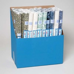 Category: Dropship Party Supplies, SKU #1281504, Title: Case of [72] Shelf Liner- Assorted Colors