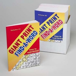 Case of [24] Giant Print Find-A-Word Book