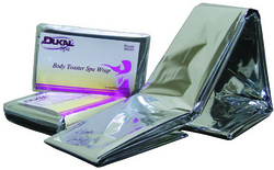 "Case of [250] Dukal Body Toaster? Spa Wrap - 52"" x 84"""