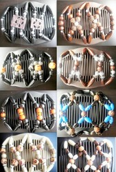Case of [36] Decorative Hair Comb