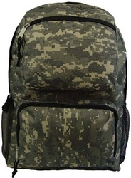 """Case of [30] 18"""" Classic Multi-Pocket Backpack - Camo"""