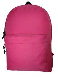 "Case of [36] 18"" Basic Backpack - Hot Pink"