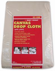 Case of [6] Canvas Drop Cloth 8 Oz - 6 ft. x 9 ft.