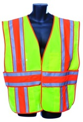 Case of [10] Green Class II Safety Vest Medium