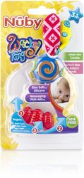 Case of [16] Nuby? Wacky Teething Ring