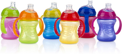 Case of [24] Nuby? 2 Handle No Spill Cup 8 oz