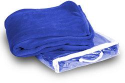 Case of [24] Micro-Plush Fleece Blanket - Royal Blue
