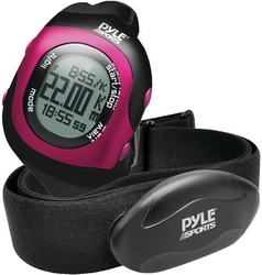 Bluetooth Fitness Heart Rate Monitoring Watch: Pink