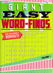Case of [48] Giant Easy word find book - 98 pages