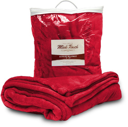 Case of [24] Mink Touch 50x60 Throw - Red