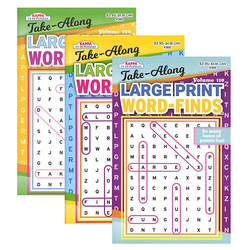 Case of [24] KAPPA Take Along Large Print Word Finds Puzzle Book - Digest Size