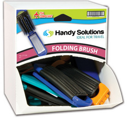 Case of [216] Handy Solutions Mirror Brushes in Dispensit Case - 18 Count