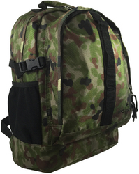 "Case of [24] 17.5"" Premium Multi-Pocket Backpack - Camo"