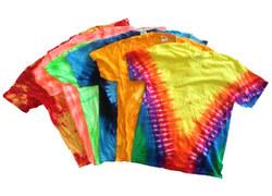 Case of [72] Adult Tie Dye T-Shirts S, M, LG, XL