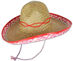 Category: Dropship Party Supplies, SKU #1907099, Title: Case of [48] Sombrero