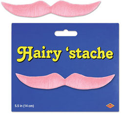 Case of [24] Hairy 'Stache - Pink