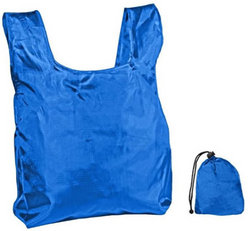 Category: Dropship Travel & Bags, SKU #1922886, Title: Case of [250] Reusable Shopping Bag with Drawstring Closure-Royal