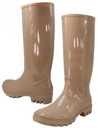 Case of [12] Women's Rain Boots Nude (Size 6-11)
