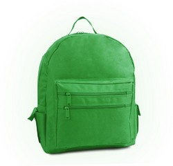 """Case of [12] 16"""" Classic Backpack On A Budget - Kelly"""