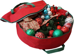 Case of [1] Christmas Wreath Bag