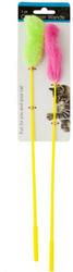 Category: Dropship Pet Supplies, SKU #1943058, Title: Case of [72] Cat Teaser Wands