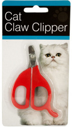 Category: Dropship Pet Supplies, SKU #1943143, Title: Case of [144] Cat Claw Clipper