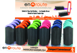 Case of [48] En Route Mirror Hairbrush - Plus Display
