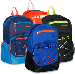 "Case of [24] 18"" Urban Sport Premium Bungee Backpack"