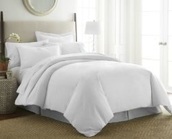 Case of [12] Queen-Full / Queen-Full Premium Ultra Soft 3 Piece Duvet Cover Set - White