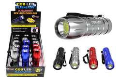 Case of [15] COB LED Flashlight