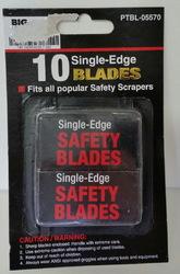 10 Pack Single-Edge Blades