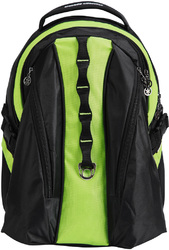 "Case of [20] 18"" Premium Backpack with Laptop Compartment - Green"