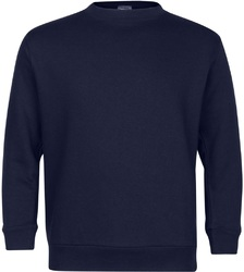 Case of [6] Premium Navy Youth Crew Neck Sweatshirt - Size 10/12