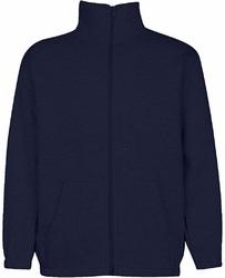 Case of [6] Premium Navy Youth Mock Neck Zippered Sweatshirt - Size 14/16 (L)