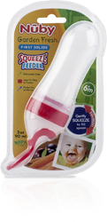 Case of [24] Nuby Silicone Squeeze Feeder 3 oz