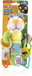 Case of [12] Nuby? Squeeze N' Squeak Plush Character Teether