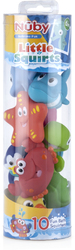 Case of [24] Nuby? Little Squirts Fun Bath Toys (Set of 10)