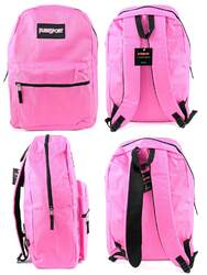 "Case of [12] 17"" PureSport Basic Backpacks - Pink"