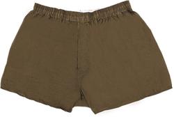 Case of [36] Cotton Plus Boxer Shorts - Brown - 4XL