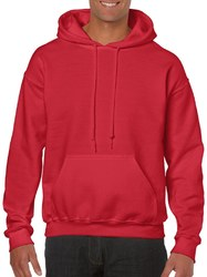 Case of [12] Irregular Gildan Hoodies Style # 18500 Red - Size XL