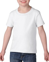 Case of [12] Irregular Gildan Toddler White T-Shirt - Size 3T