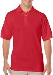 Case of [12] Irregular Gildan Red Polo Shirts - Size XL
