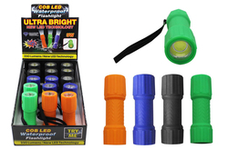 Case of [15] COB LED Waterproof/Floating Flashlight