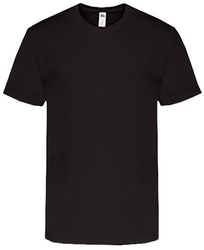Adult short sleeve T-shirt - Black - 3XL