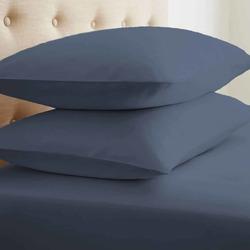 Case of [24] Soft Essentials Double-Brushed Microfiber 2 Piece Pillow Case Set - Navy - Standard