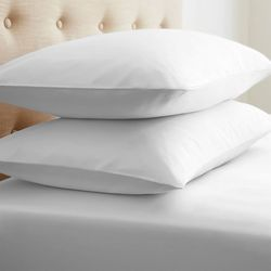 Case of [24] StandardDouble-Brushed Microfiber 2 Piece Pillow Case Set - White
