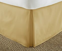 Case of [12] Soft Essentials Premium Pleated Bed Skirt Dust Ruffle - Gold - Twin XL